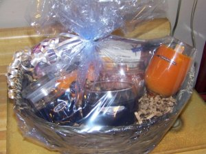 Harley gift basket I did for a special order. $25