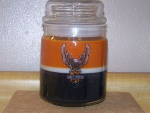 Harley colors in a 25 ounce jar for $15